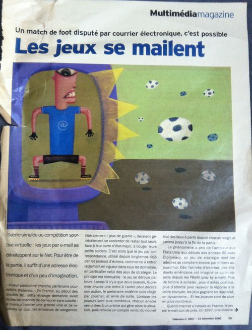 Jeux email 1